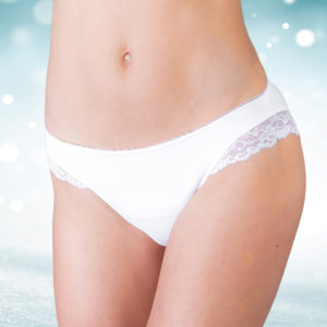 Panty & Pocket Pack – White
