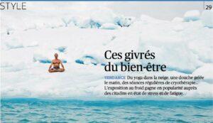 Read more about the article Ces givrés du bien-être : le retour des bains dérivatifs.
