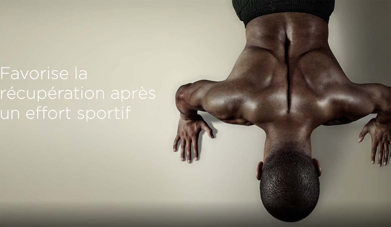 La poche de gel Sōkai favorise la récupération musculaire
